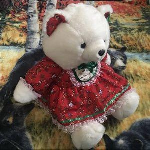 1991 Christmas Teddy Bear